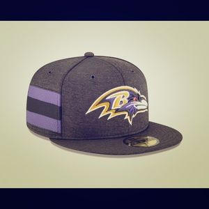 Baltimore Ravens New Era NFL 59FIFTY Fitted Hat